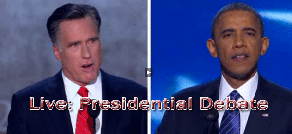 Replay: Presidential Debate