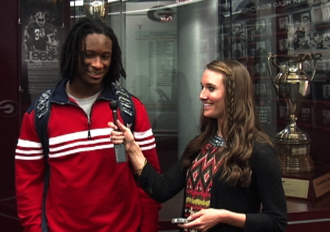 Interview with Georgia RB Todd Gurley