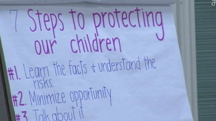No Fear Here: Educates Community about Child Sexual Abuse