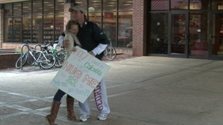 UGA Students Sell Hugs to Fund Mission Trip