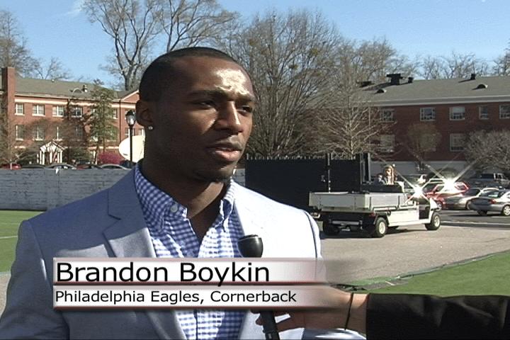 Webcast Interview with Brandon Boykin