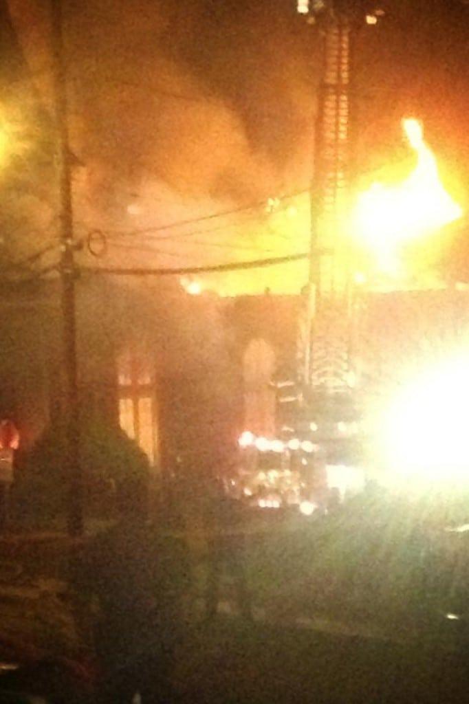 Fire at Oconee Street Church