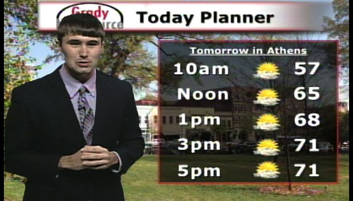 Online Weather Forecast: October 29th