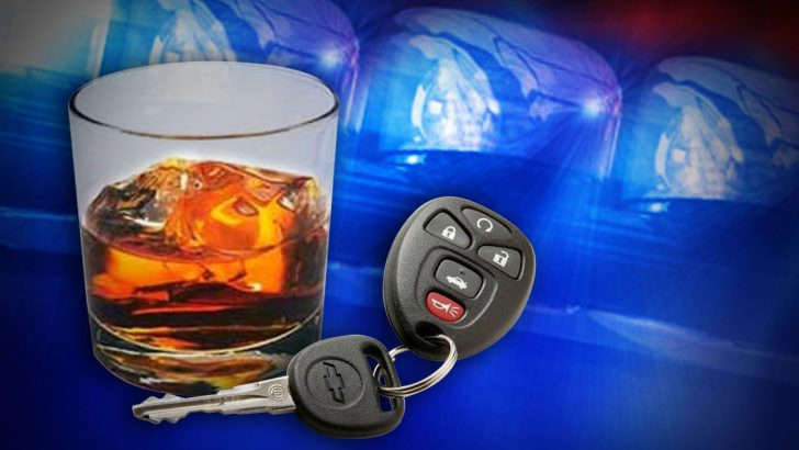 Cops say alcohol and severe weather don't mix