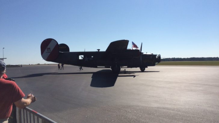 WWII Bomber Planes in Athens
