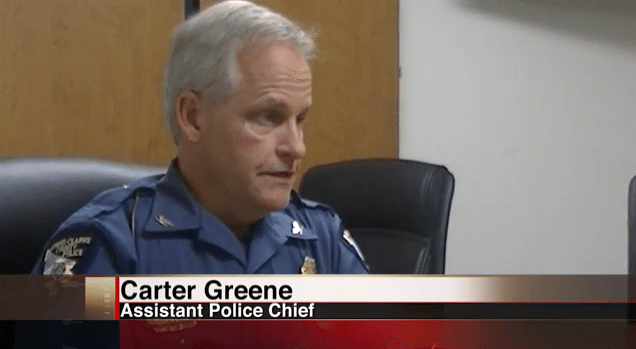 Carter Greene: Interim Police Chief