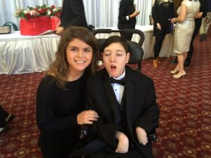 Anna loved spending the evening with her Buddy Michael Webb