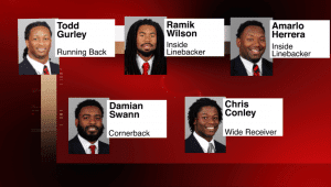 Dawgs in 2015 NFL Combine