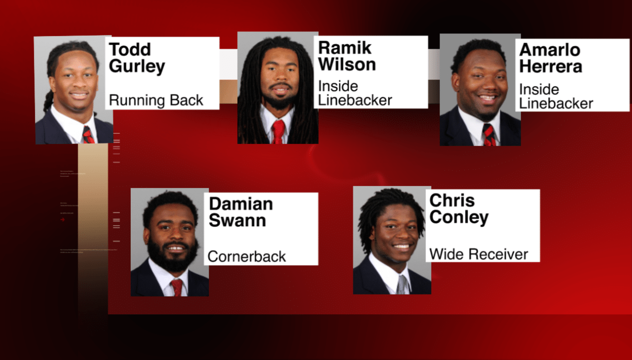 UGA Sends Five Former Members to NFL Combine