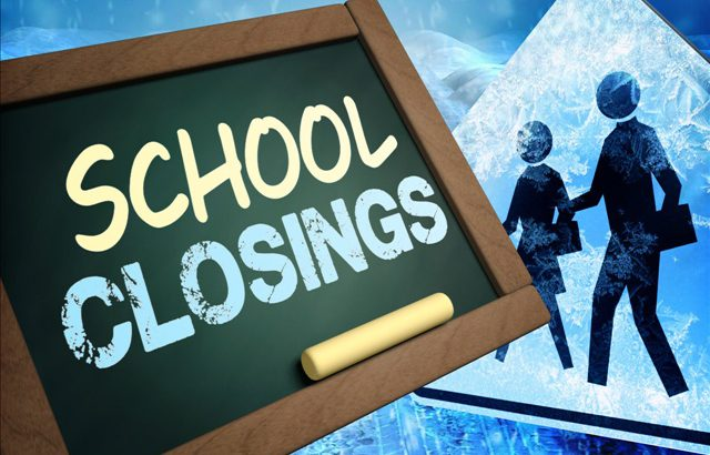 Local Schools Closed for Winter Weather