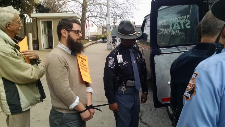 Breaking News: Three Athens Residents Arrested in Medicaid Protest
