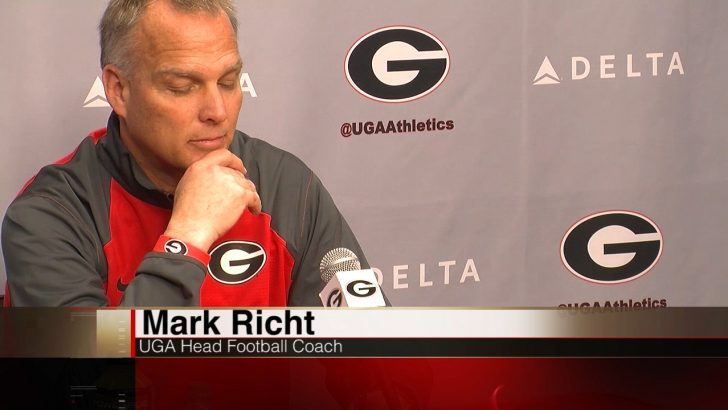 Coach Richt Talks Spring Football for the Dawgs