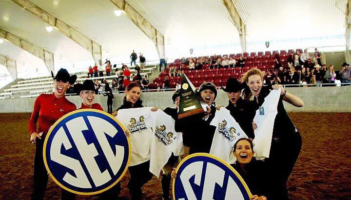 Equestrian team takes home a win