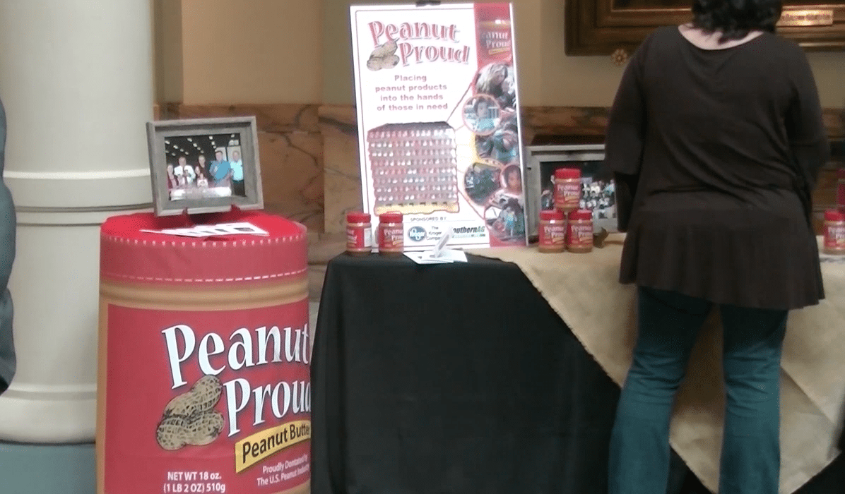 Peanut Butter & Jelly Day at the State Capitol