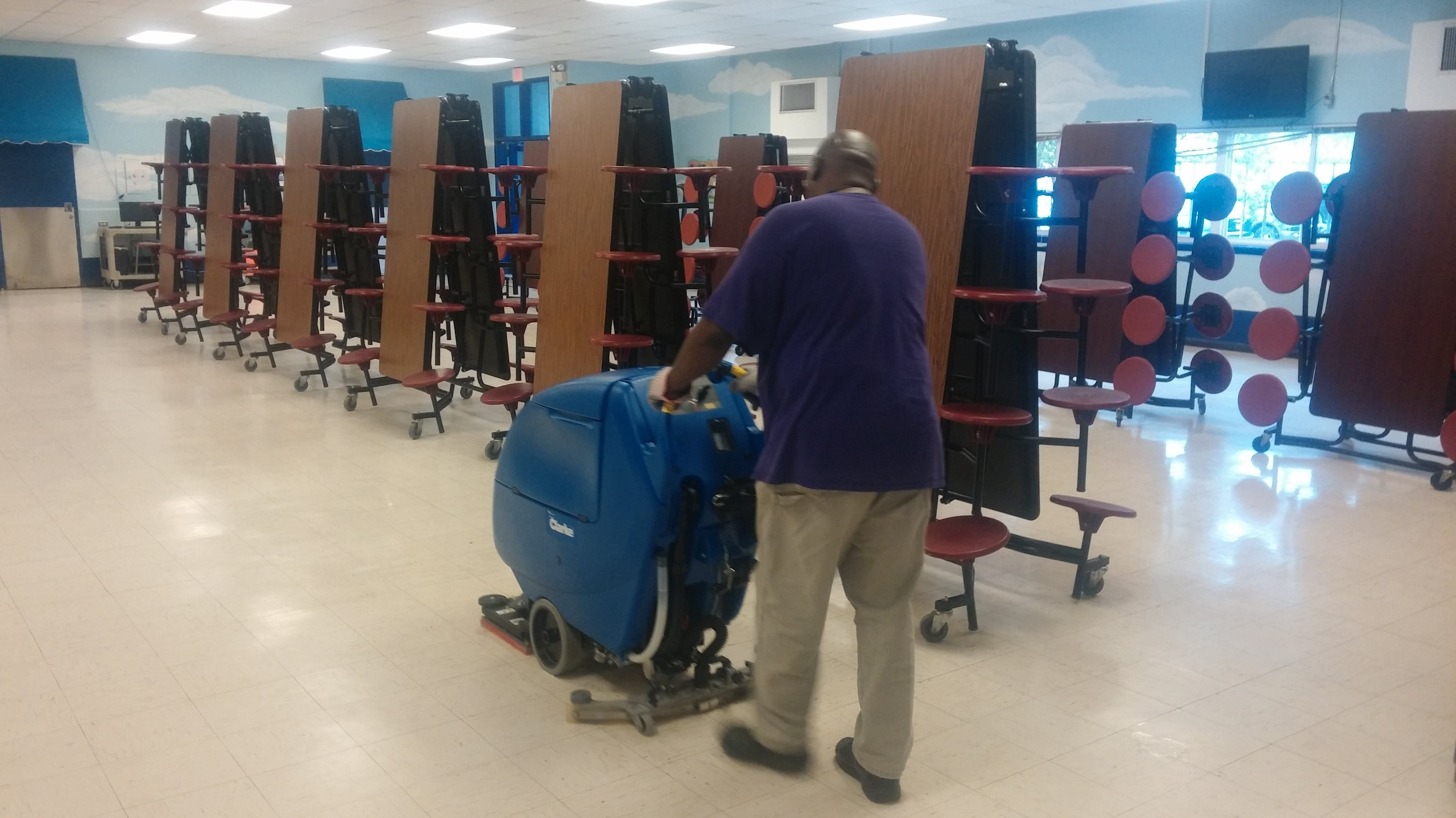 Cleaning means much more to this primary school custodian