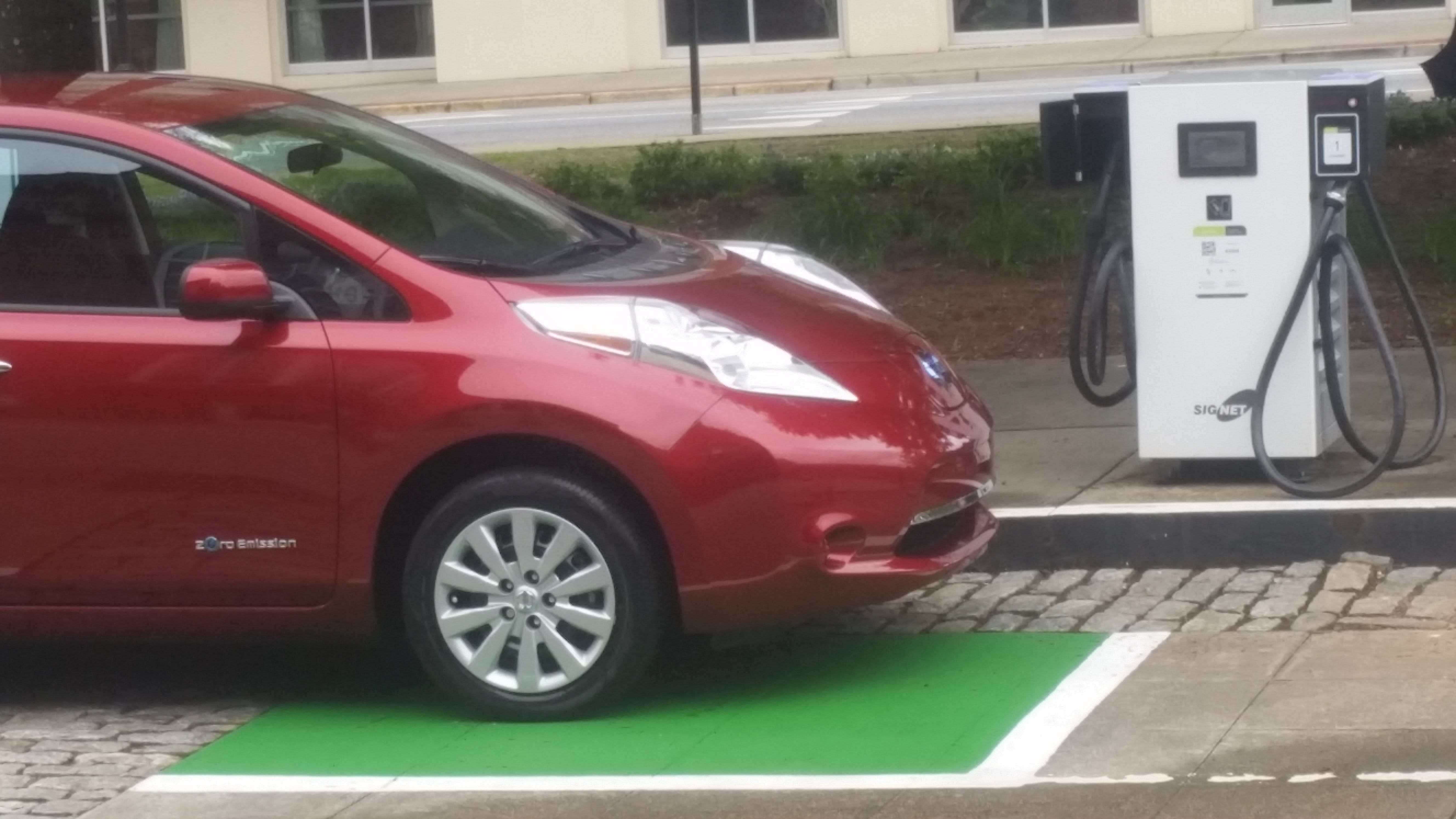 Classic Center debuts electric car charging station