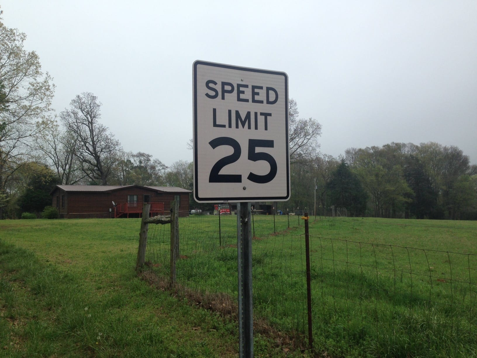 Forest Trail gets its first speed limit