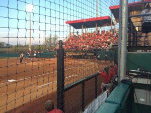 UGA softball game vs. Ole Miss