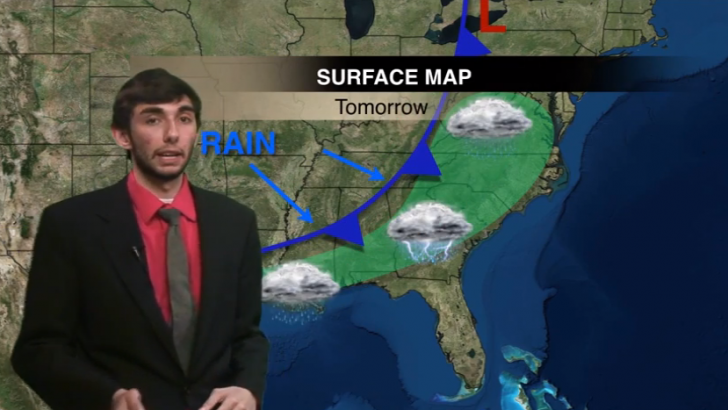 Warm weather this weekend, chances of thunderstorms tomorrow