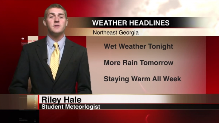 Expect warm and wet weather this week