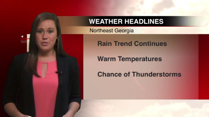 Warmer temperatures and rain expected throughout week
