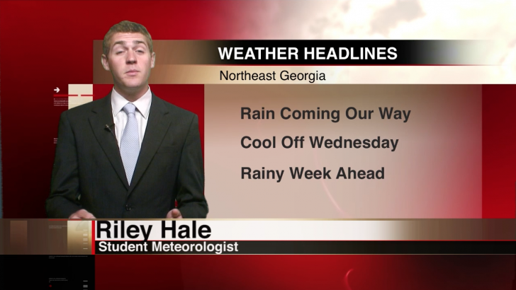Rain, cool temperatures on their way back to Northeast Georgia