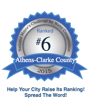 UPDATE: Athens-Clarke County ranks 6th in water conservation contest