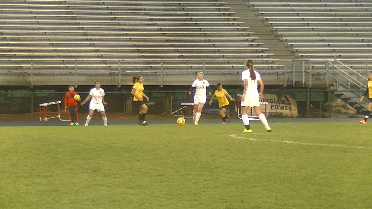 Clarke Central girls soccer taking aim at the playoffs