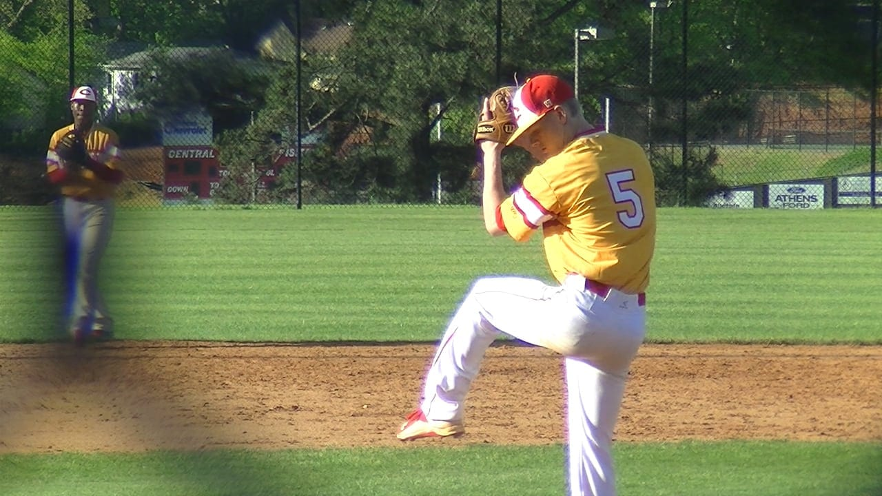 Clarke Central pitcher throws no hitter against Cedar Shoals