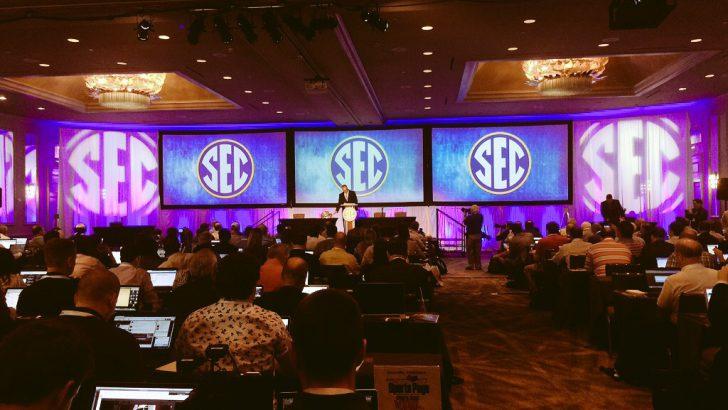 Auburn, Florida, Vanderbilt speak first at SEC Media Days