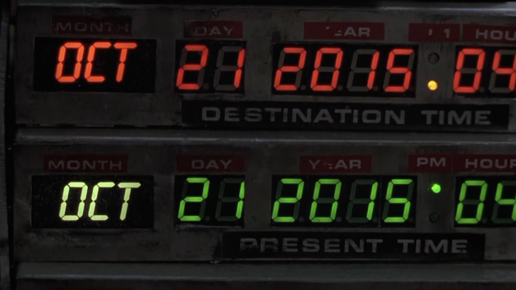 Back to the Future's 2015 vs. reality
