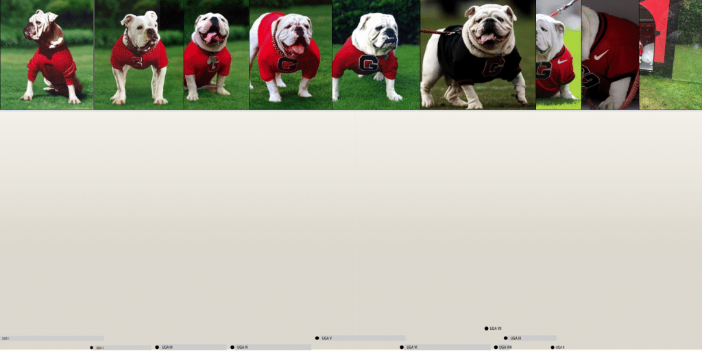 Timeline: Uga Then to Now