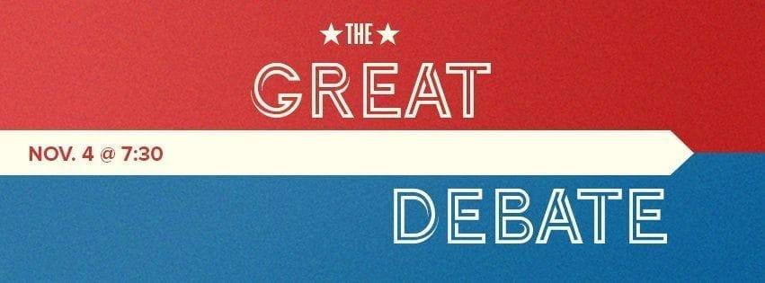 Young Democrats, College Republicans to discuss politics in Great Debate