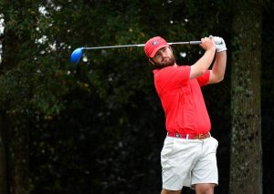 Georgia's Greyson Sigg during the East Lake Cup at East Lake Golf Club in Atlanta, Ga., on Monday, Nov. 2, 2015. (Photo by Steven Colquitt)