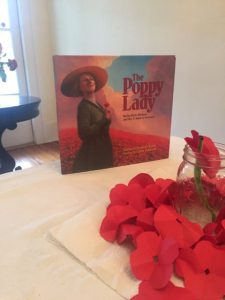 "Children were read ""The Poppy Lady"" on Sunday, Nov. 8, 2015."