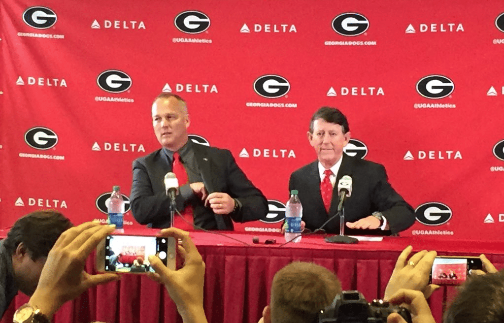 UPDATE: Richt addresses the media with AD McGarity
