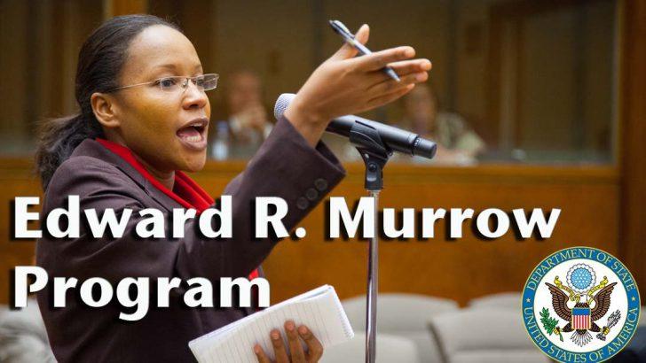 Edward R. Murrow Program Visits Grady