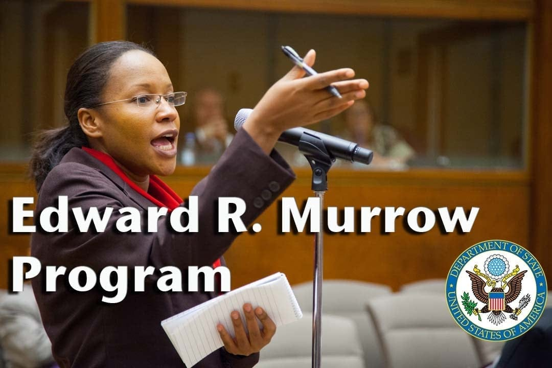 Edward R. Murrow Program Visits Grady