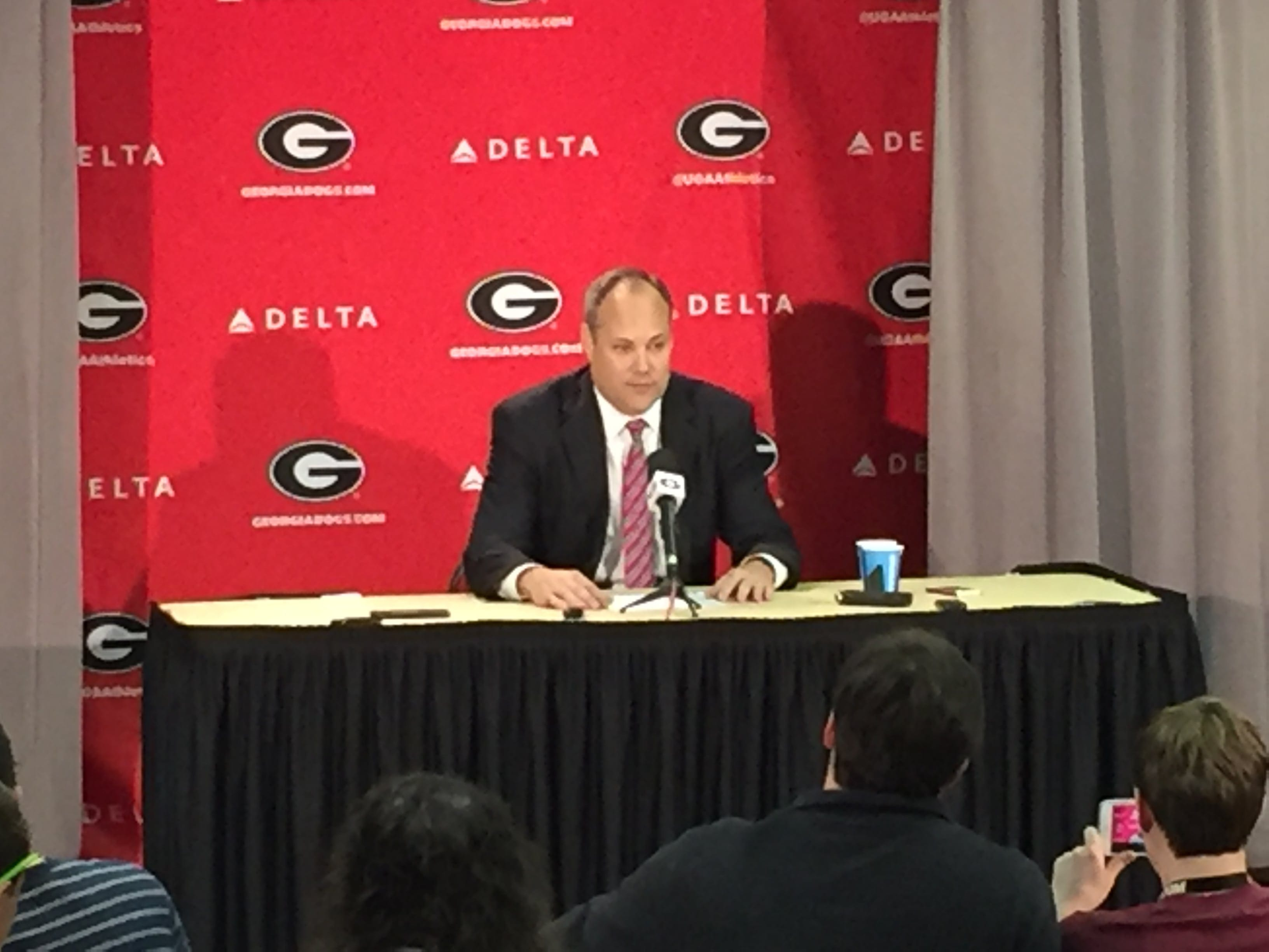Coach Fox gets emotional over Richt's departure