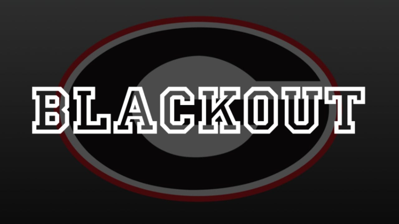BLACKOUT for Coach Richt