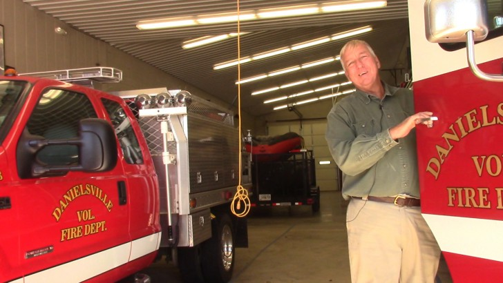 Grady Newsource Profile: Danielsville Volunteer Fire Chief Marc Perry