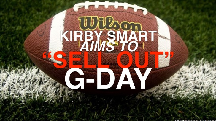 Will Kirby Smart fill Sanford for G-Day?