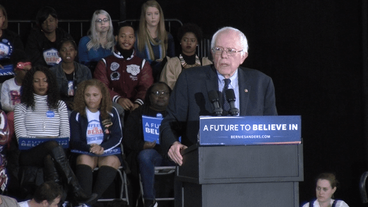 Bernie Sanders discusses economic, social reform in Atlanta visit