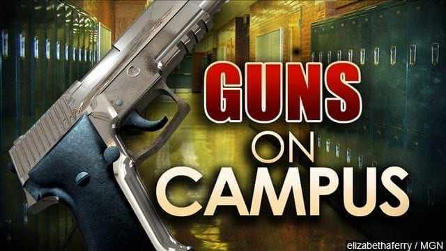 Some Students Say No to Guns on Campus