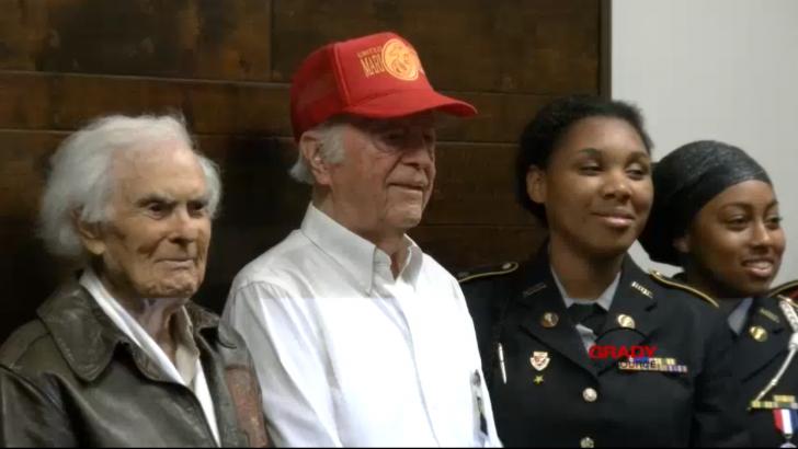 Celebrating World War II Veterans