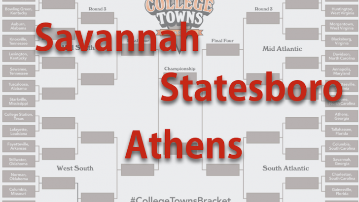 How Athens fared in the Southern College Towns bracket