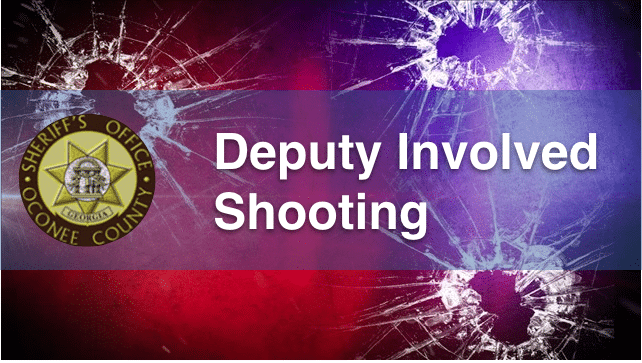 Deputy Involved Shooting in Oconee County