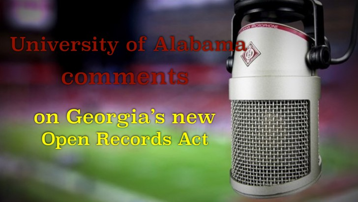 University of Alabama gives opinion on Senate Bill 323