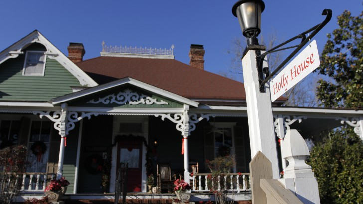 California woman creates home in a bed and breakfast