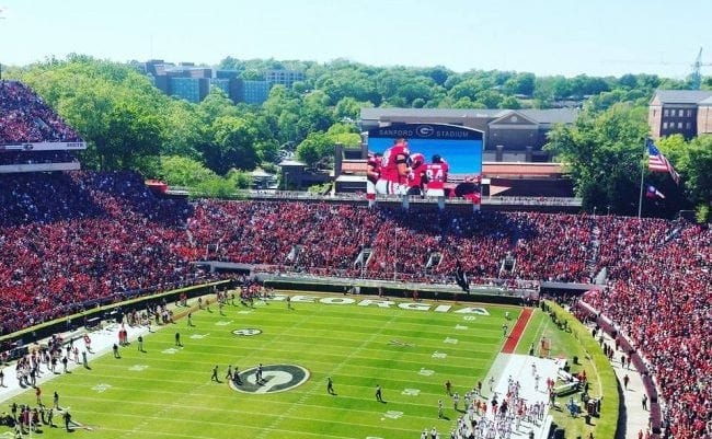 Many change have are being made to Sanford Stadium for the 2016 football season.